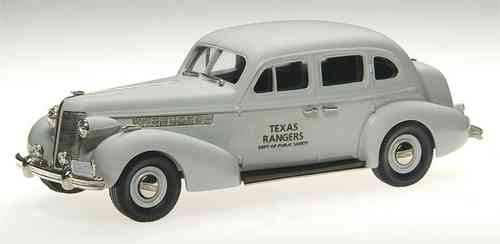 "Brooklin Models, 1937 Buick Special ""TEXAS RANGERS"", Police, Polizei, 1/43"