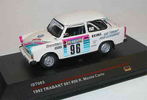 Ist Models, Trabant 601, Rally Monte Carlo 1992 #96, 1/43
