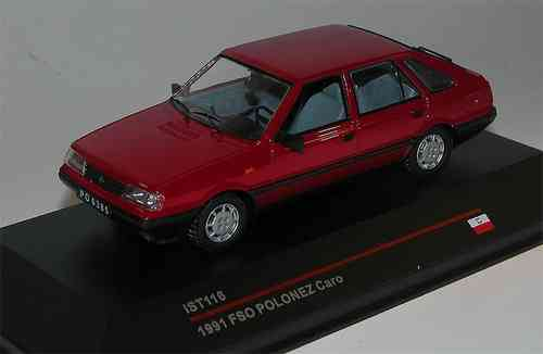 Ist Models, FSO Polonez Caro, 1991, rot, DDR, USSR, Polen, 1/43