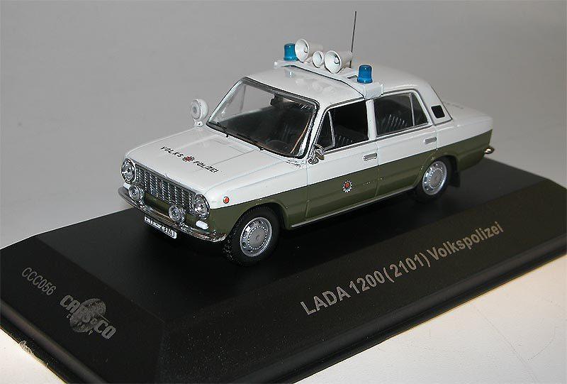 Ist Models, Lada 1200 (VAZ 2101) Volkspolizei, Cars & Co Sondermodell, 1/43