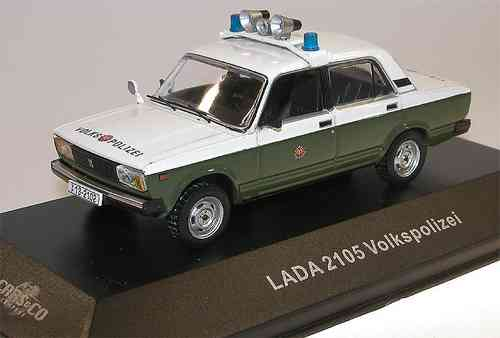 Ist Models, Lada 1200 (VAZ 2105), Volkspolizei, Cars + Co.Sondermodell, Limited, 1/43