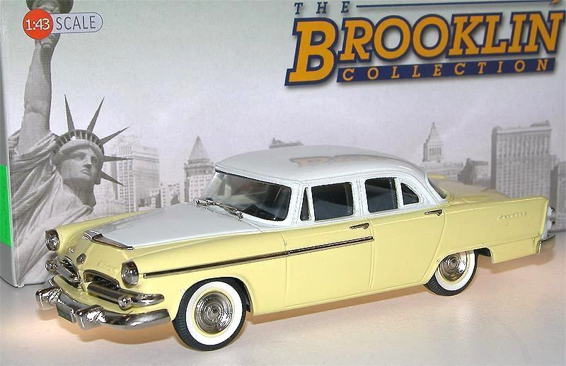 Brooklin models 1955 dodge coronet 4 door sedan 2 tone 1 43 for 1955 dodge coronet 4 door