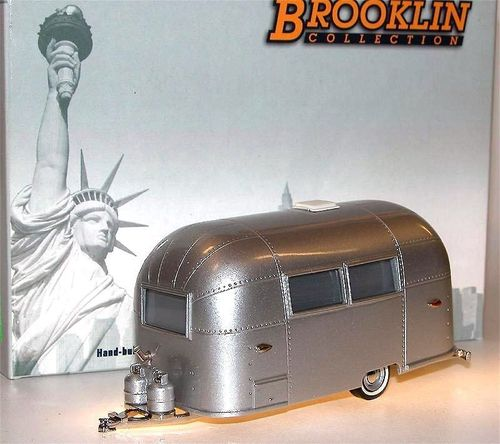 Brooklin Models, 1961 Airstream Bambi Trailer,  Wohnwagen, 1/43