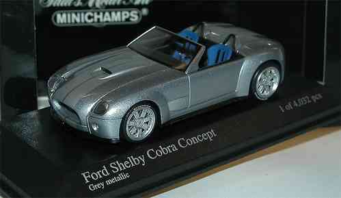 Minichamps, 2004 Ford Shelby Cobra Concept Car, 1/43
