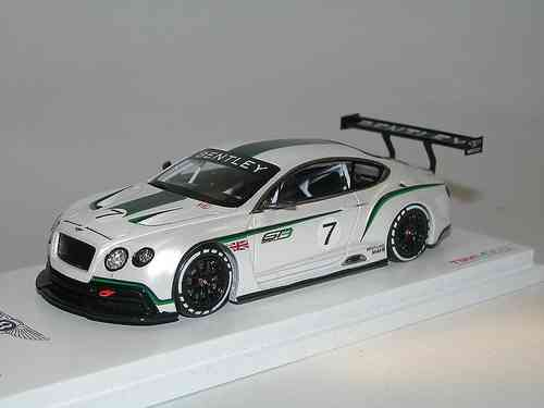 TSM Model, 2012 Bentley Continental GT3 Concept Race Car, 1/43