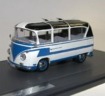 Matrix Scale Models, VW T1 Auwärter Carlux Bus, 1962, blau 1/43