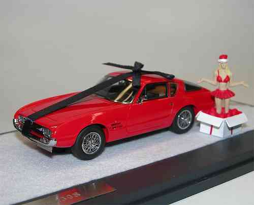 Matrix Scale Models, Ghia 230 S Coupe, 1963, Christmas Special