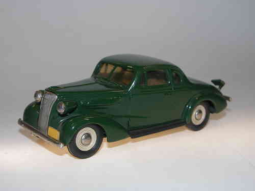 Brooklin Models, 1937 Chevrolet Coupe, green, 1/43