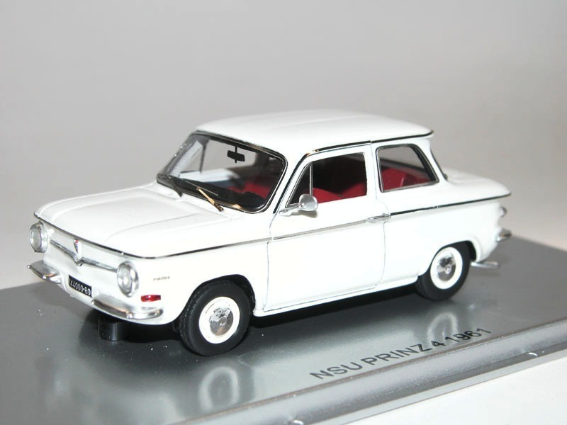 kess scale models 1961 nsu prinz 4 wei 1 43 limitiert. Black Bedroom Furniture Sets. Home Design Ideas