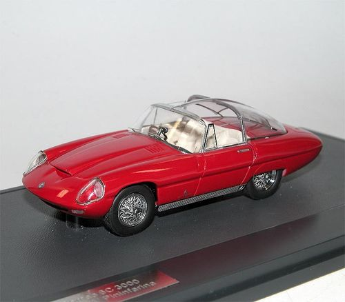 Matrix Scale Models, Alfa Romeo 6C 3000 Superflow IV Pininfarina, 1960 1/43