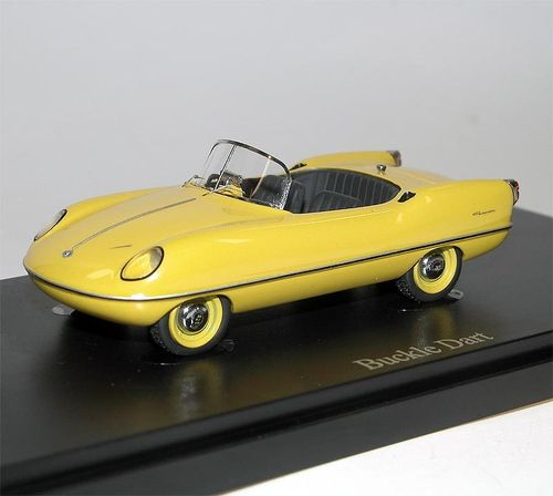 AutoCult, 1957 Buckle Dart, Micro Car, Bubble Car, gelb, 1/43