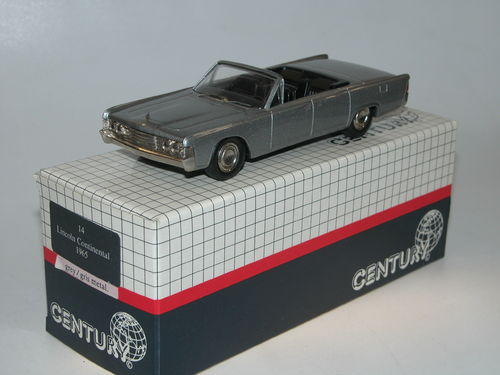 Century AMR/Danhausen, 1965 Lincoln Continental Convertible, 1/43