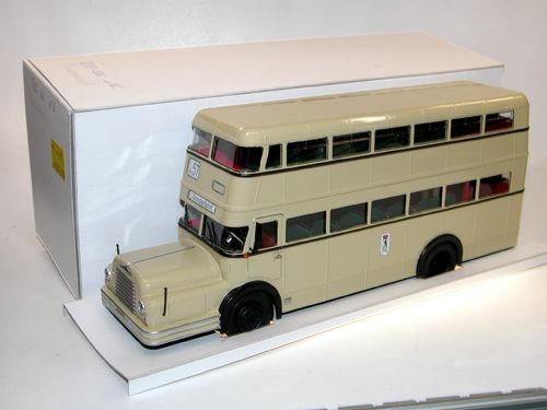 Kimmeria, Do 56 Doppeldeckerbus BVG Berlin-Ost DDR 1957, 1/43