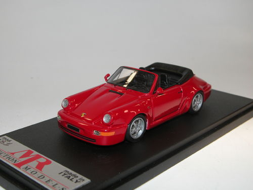 MR Collection, 1989 Porsche 911 (964) Carrera 2 Cabriolet, rot, 1/43