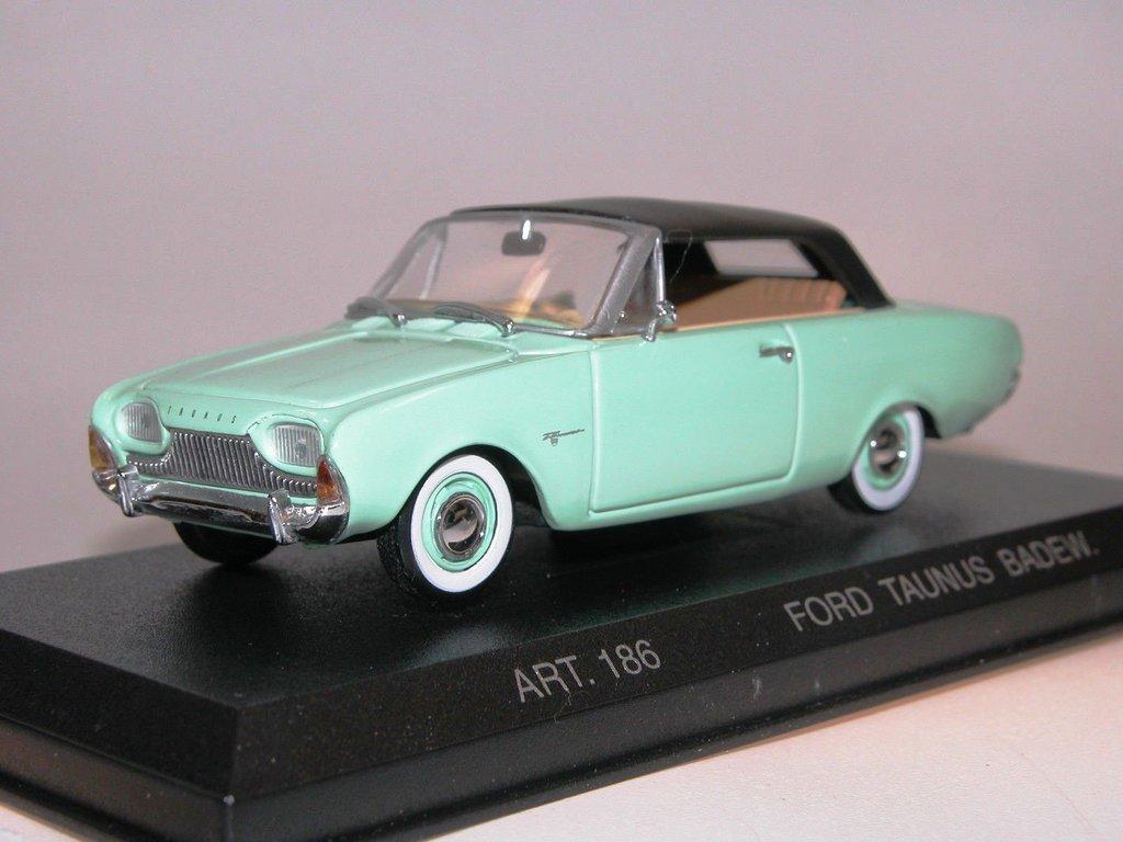 Detail Cars 1960 Ford Taunus 17m Cabriolet Geschlossen