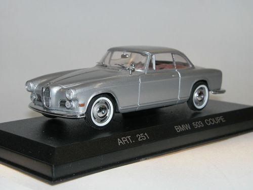Detail Cars, 1959 BMW 503 Coupe, silber, 1/43