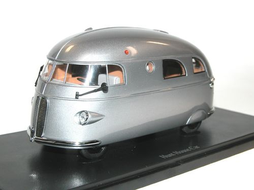 AutoCult, 1937 Hunt House Car, Wohnmobil, Camper, USA, 1/43