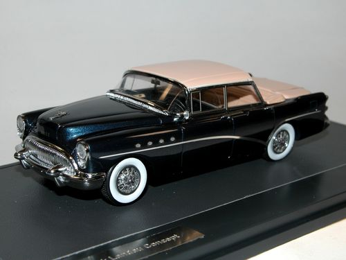 Matrix Scale Models, 1954 Buick Landau Concept, blue, 1/43