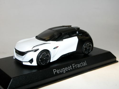 Norev, 2015 Peugeot Fractal Concept Car Coupé Version, 1/43