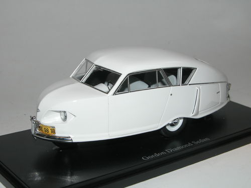 AutoCult, 1949 Gordon Diamond Sedan, Concept Car Studie USA,  1/43