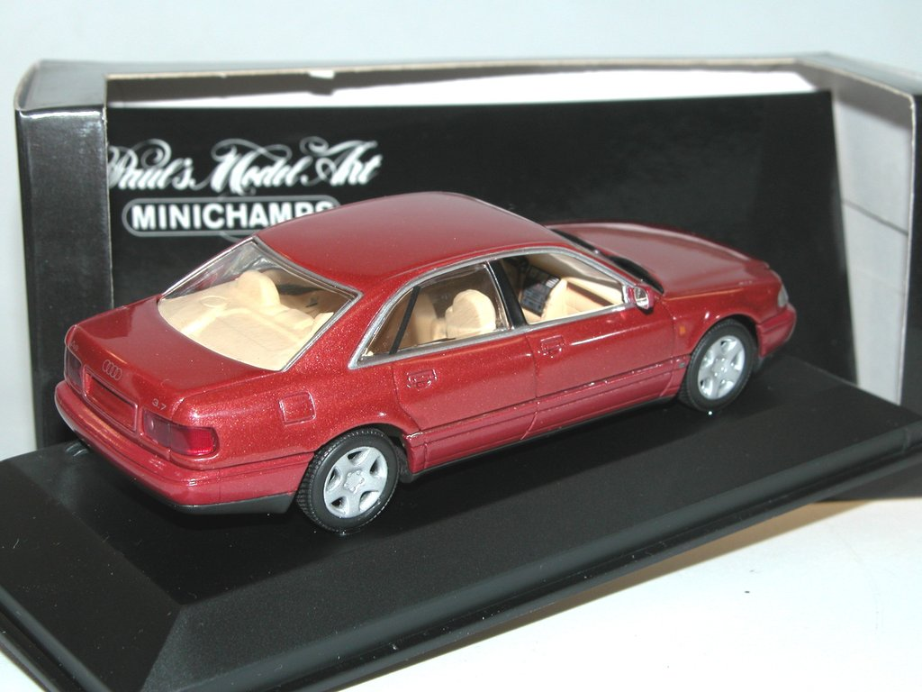 minichamps 1994 audi a8 limousine isis red g nstiger preis. Black Bedroom Furniture Sets. Home Design Ideas
