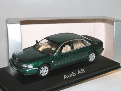 Minichamps, 1999 Audi A8 Limousine, racing green, 1/43