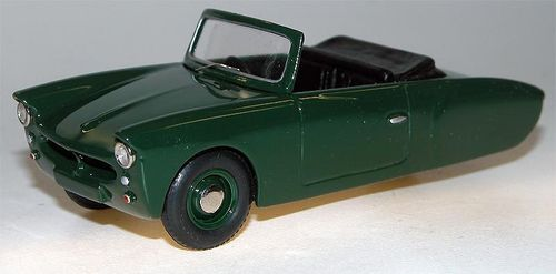 1957 Coronet 3-Wheeler open Top, green, Microcar, Resin, 1/43