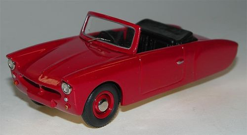 1957 Coronet 3-Wheeler open Top, red, Microcar, Resin, 1/43