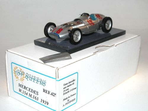 Mercedes W154 M.163 GP Pau 1939 Hermann Lang #18, 1/43