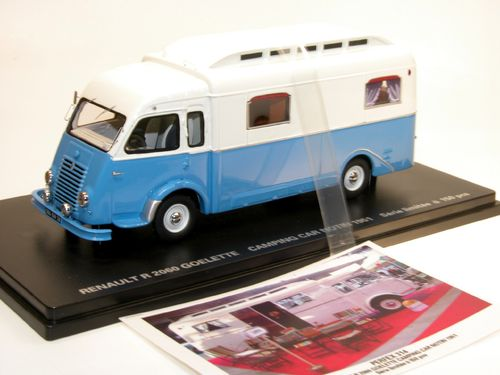 PERFEX, Renault R 2060 GOELETTE Camping Car  NOTIN 1951 1/43