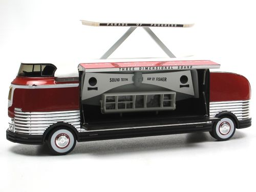 TSM Model, 1954 GM Futurliner Three Dimensional Sound 1/43