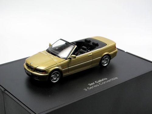 Minichamps 2000 BMW 3-Series E46 Cabriolet gold 1/43