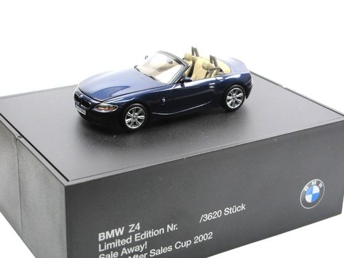 Minichamps BMW Z4 Roadster (E85) After Sales Cup 2002 1/43