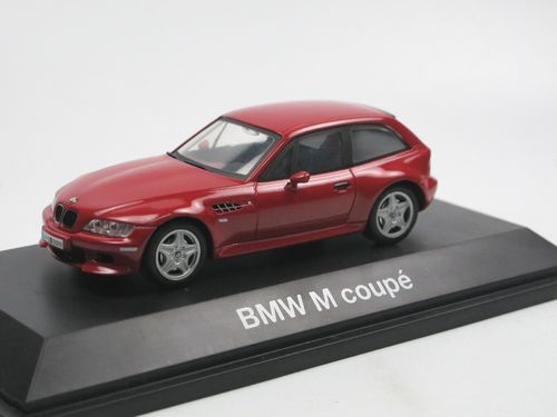 Schuco 1998 BMW Z3 M Coupe Imola red 1/43
