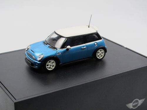 Minichamps 2002 Mini Cooper S (BMW Group) blau metallic 1/43