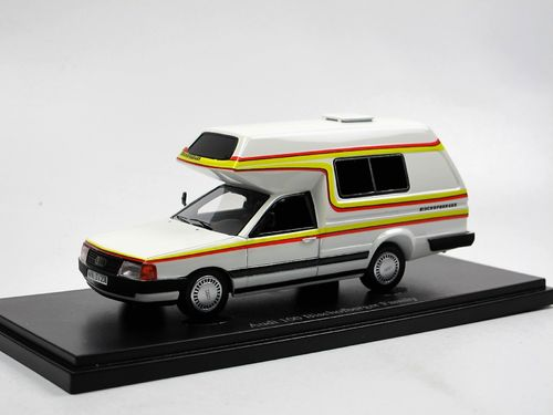 AutoCult 1985 Audi 100 Bischofberger Family Camper 1/43