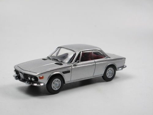 Detail Cars 1971 BMW 3.0 CSi Coupe silber 1/43