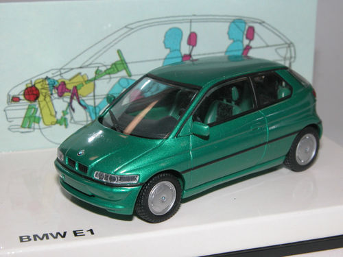 Minichamps 1993 BMW E1 (Z15) 2. Generation grün metallic 1/43