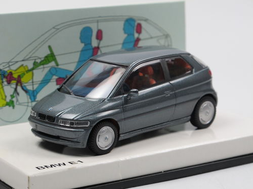 Minichamps 1993 BMW E1 (Z15) 2. Generation grau metallic 1/43