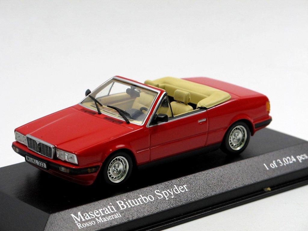Minichamps 400123530 Maserati Biturbo Spyder 1986