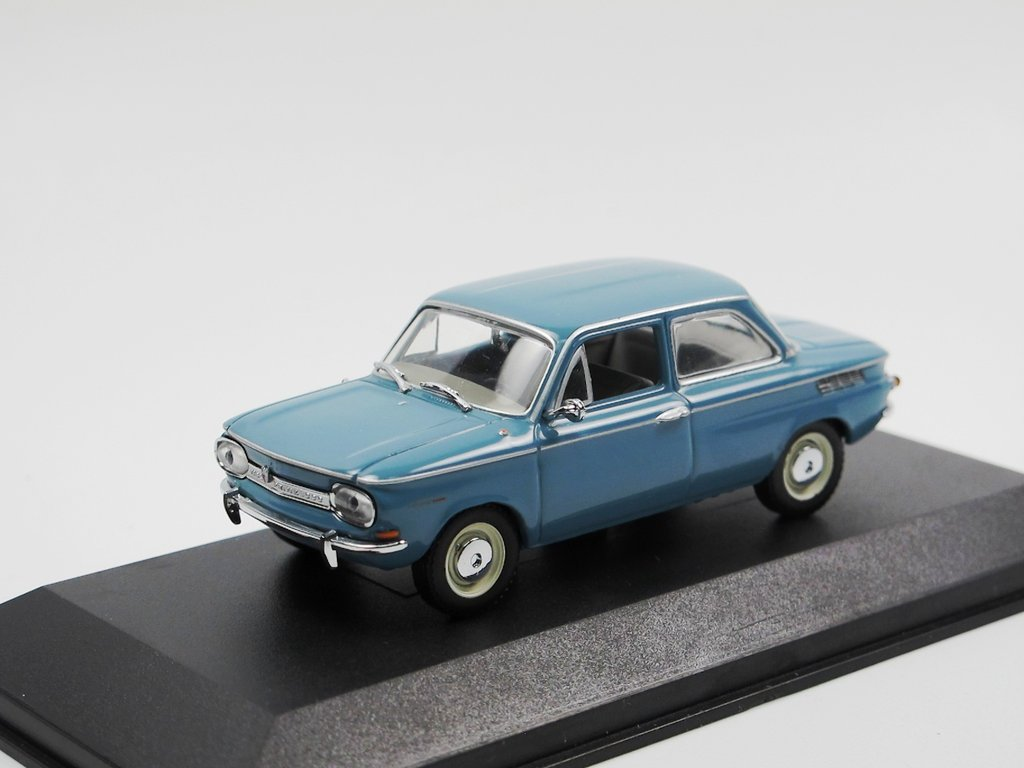 minichamps 1964 nsu prinz 1000 l blau metallic 1 43 rarit t. Black Bedroom Furniture Sets. Home Design Ideas