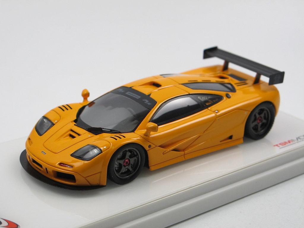 tsm model 1995 mclaren f1 lm street orange 1/43 sehr günstig