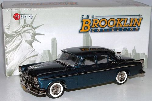 Brooklin Models 1955 Chrysler Windsor 4-Door Sedan blau 1/43