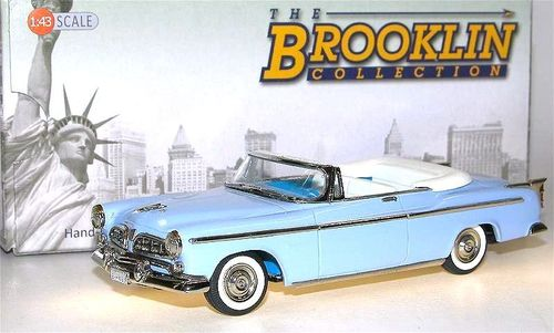 Brooklin Models 1955 Chrysler Windsor Convertible blau 1/43