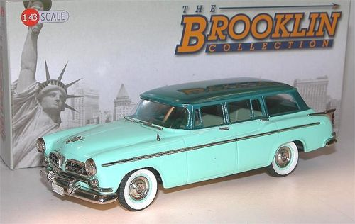 Brooklin Models, 1955 Chrysler Windsor Town and Country, Station Wagon, 1/43