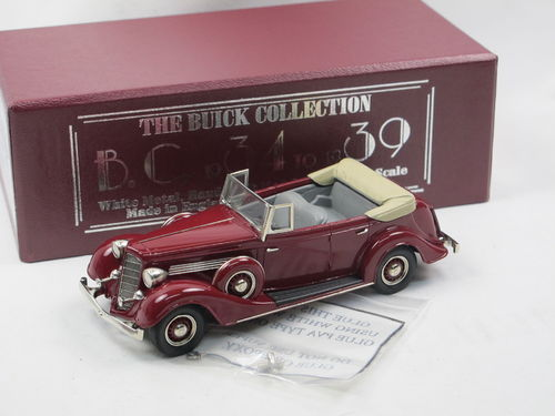 Brooklin 1934 Buick Series 60 4-Door Convertible 68-C 1/43