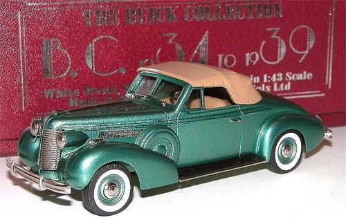 Brooklin 1938 Buick Special Convertible Coupe M46-C 1/43