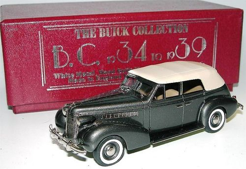Brooklin 1938 Buick Special Convertible Phaeton M-40C 1/43
