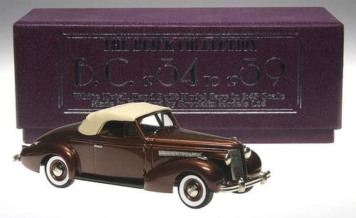 Brooklin Models 1937 Buick Special Convertible M-46C 1/43