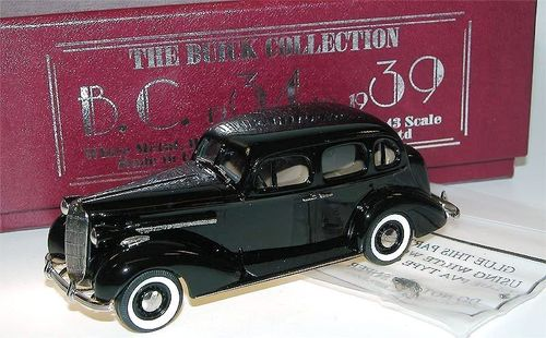 Brooklin Models 1936 Buick Special 4-Door Sedan M-41 1/43